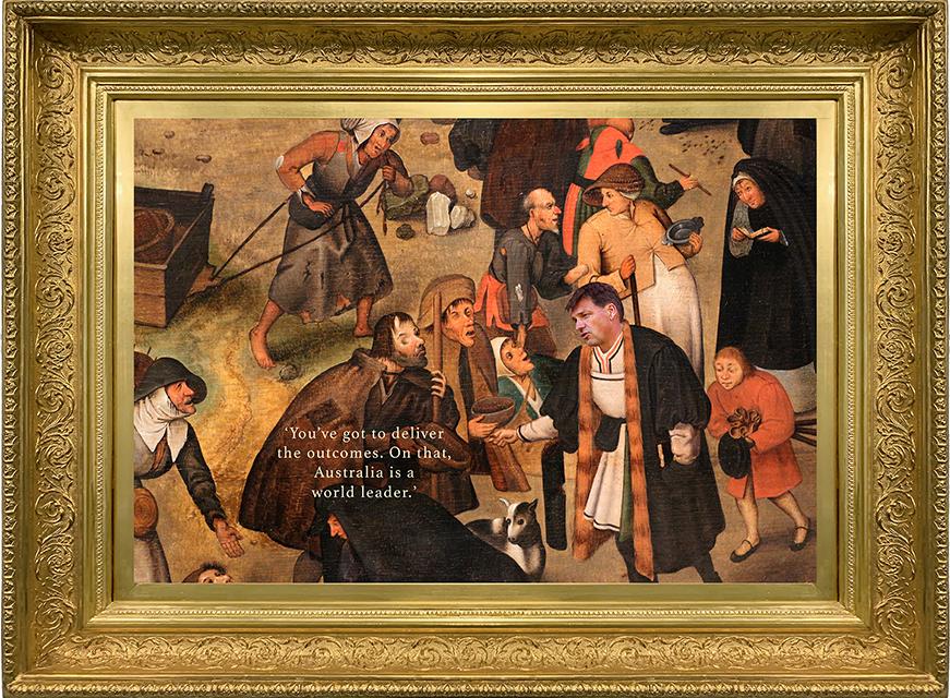 brueghel taylor framed 72